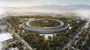 New Apple campus in Cupertino