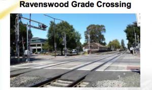 Menlo Park Ravenswood Crossing