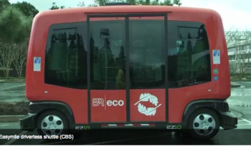 Driverless shuttles from Easymile in service in San Ramon Bishop Ranch Office Park