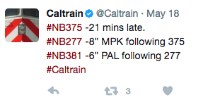 caltraindelay