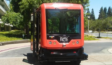 Autonomous Shuttle from EasyMile pilot at Bishop Ranch